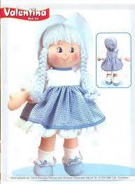 Resultado de imagen para muñecas de trapo patrones