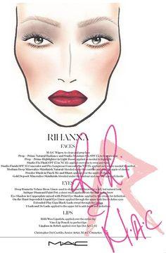 Makeup Collection: Rihanna trägt M.A.C auf Diamonds-Tour. Mit diesem Produkten wird ihr Make-up geschminkt!