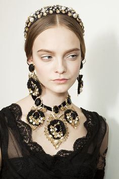 Amber and Allie: Dolce and Gabbana fall 2012