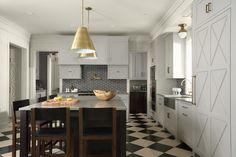 White Oaks Residence transitional kitchen
