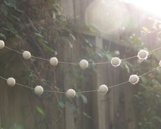 String up some warm fuzzies at your woodsy wedding. #etsyweddings #etsyfinds