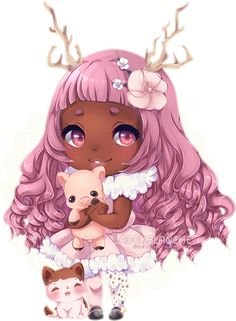 Detailed Chibi Commission for ElaryWakefield Thank you! Commissions are OPEN ♦ ♦…