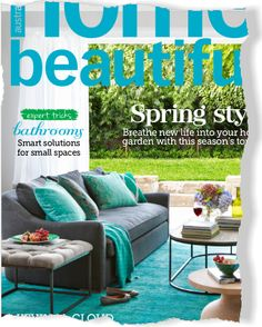 Inspiration. Clipped from Home Beautiful. Ottoman guiseppi from contents international design