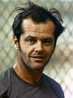 """Jack Nicholson in Milos Foreman's """"One Flew Over the Cuckoo's Nest"""" (1975)"""
