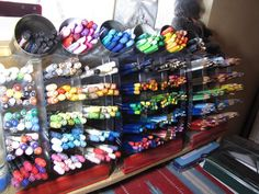 Organized by - Cards and Paper Crafts at Splitcoaststampers Marker Storage, Distress Markers, Organizing, Organization, Art Supply Stores, Watercolor Pencils, Craft Rooms, Copics, Give It To Me