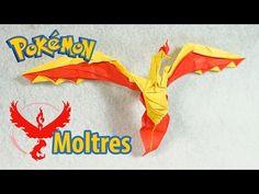 Paper Pokemon - Origami Zapdos - サンダー Team Instinct Tutorial (Henry Phạm) - YouTube
