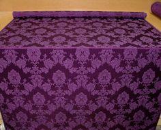 purple madagascar designer curtain upholstery fabric by cindysboho