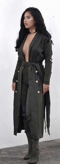 Khaki Structured Outfit @lacedior 👉Pinterest