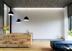 KAZA Concrete is an innovation-focused fine-concrete design and manufacture company. Known as the first bespoke contemporary concrete tile manufacturer, KAZA is renowned for their tessellations. 3d Wall Tiles, Wall Tiles Design, Mosaic Tiles, Concrete Tiles, Concrete Design, Stone Tiles, Beton Design, Geometric Tiles, Geometric Designs