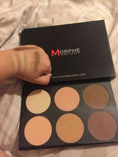 Love this powder contour kit from Morphe! Makeup Must Haves, Makeup To Buy, Kiss Makeup, Makeup Kit, Love Makeup, Makeup Brushes, Beauty Makeup, Hair Makeup, Makeup Products