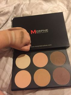 #Morphe brushes 06F- Pressed Powder Palette This is an amazing palette for highlighting and contouring! It's get to set your under eye concealer and to get a warm natural bronze. This is also so pigmented! Get quality that won't break the bank! This was less than $40. Hope this helps