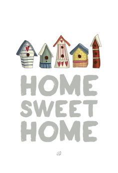 FREE quote printable: home sweet home / LostBumblebee