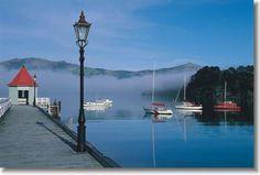 Akaroa Port New Zealand - Akaroa Cruises - New Zealand Cruising Seaside Village, Seaside Towns, Beautiful Sites, Beautiful Islands, Akaroa New Zealand, New Zealand Holidays, New Zealand South Island, Harbor View, Places Ive Been