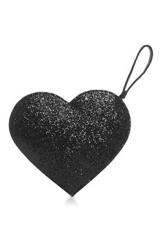 We are in love with this Primark black glitter heart clutch!
