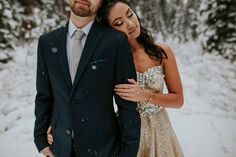 Snowy Banff Elopement via Rocky Mountain Bride Nyc Wedding Venues, Affordable Wedding Venues, Wedding Rentals, Wedding Vendors, Weddings, Winter Mountain Wedding, Snowy Wedding, Wedding Bride, Wedding Gowns