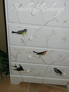 Fly Away Chest of Drawers