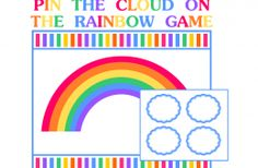 FREE RAINBOW PARTY PRINTABLES | Printabelle