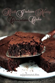 A Very Rich Italian Chocolate Cake Recipe on Yummly