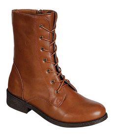 Look at this #zulilyfind! Chestnut Jagger Boot by Bamboo #zulilyfinds