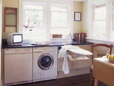 1000 images about lavadora en la cocina on pinterest laundry puertas and el escorial - Lavadora en la cocina ...