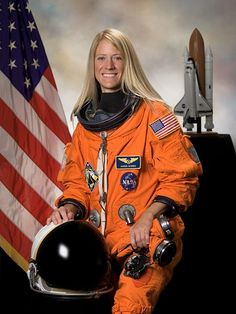 Karen LuJean Nyberg is an American mechanical engineer and NASA astronaut. Nyberg was the 50th woman in space and is currently a flight engineer in Expedition 36 on the International Space Station.Having launched on Soyuz TMA-09M. and while in orbit, Nyberg was one of only two women in space on the 50th anniversary on June 16th 2013 of Vostok 6, the first spaceshot by a woman, Valentina Tereshkova, the other being Wang Yaping aboard the Tiangong-1 on the Shenzhou 10 mission.[.