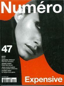 Nùmero Magazine - October 2003 #fashion #magazine #highfashion #nùmero #expensive