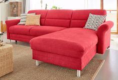 Design polstersofas oruga leicht  Gavino Sofa Couch Ecksofa mittelgrau B 244 cm / T 180 cm / H 83 cm ...