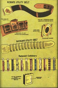 Robin's utility belt