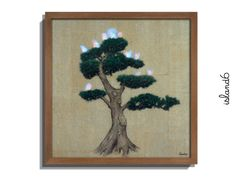 """My Green Old Pine"" (Liu Dao Collective) #island6 #LED #acrylic #LiuDao #M50 #ElectronicArt #DigitalArt"