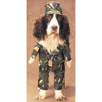 Army Dog Halloween Pet Costume