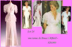 Princess Diana's Gown - Lot 24
