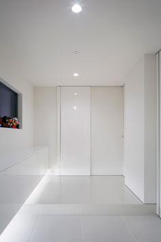モノトーンを基調としたシンプルな家・間取り | 注文住宅なら建築設計事務所 フリーダムアーキテクツデザイン
