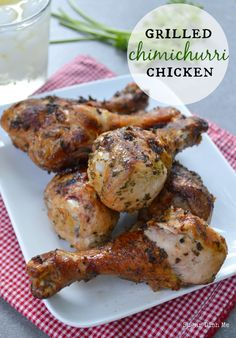 Grilled Chimichurri Chicken Easy, healthy, delicious!!