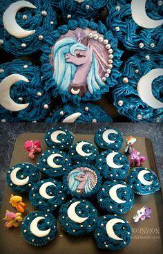 Princess Luna Cupcakes by The-DKid on DeviantArt