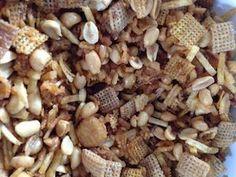 Southern Style Crockpot Chex Mix