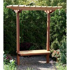 Garden Bench/Trellis: Downloadable Woodworking Plan | Your Store For Woodworking Tools