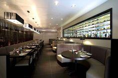 Disused and dilapidated night club transformed upmarket Italian restaurant.