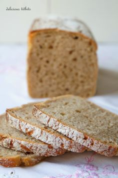 Delicious Titbits: Chleb żytni jasny Freshly Baked, Bread Baking, Yummy Food, Delicious Recipes, Cooking, Breads, Cakes, Brot, Baking