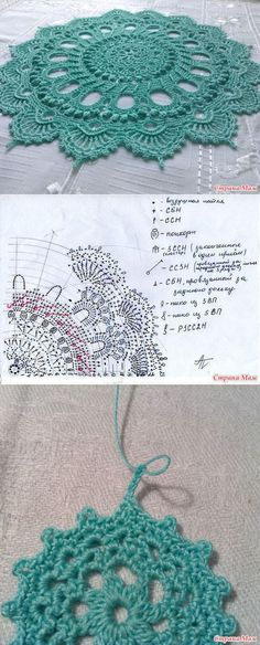 "Patricia Kristoffersen и ее салфетки! Вяжем мечту! Ковер или салфетка ""Splendid ""...<3 Deniz <3"
