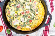 Hmmm are you sensing a theme here? First Caprese Gnocchi last week and now Caprese Frittata. And let's not forget about my Open Faced Caprese Sandwiches, Caprese Orzo Salad, and Caprese Arugula Salad. I'm pretty sure it's safe to say I'm 100% obsessed with anything that has tomatoes, mozzarella, and basil in it right now....Read More »