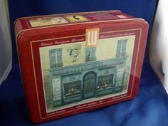 """Vintage 1985 Limited Edition LU """"Lefevre - Utile"""" Biscuit Tin"""