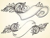 Curled Scroll Banners