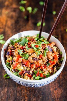 Sriracha Cauliflower Fried Rice | Get Inspired Everyday!