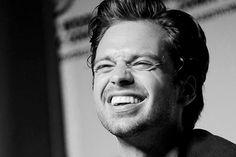 HIS SMILE IS SO HAPPY ILOVEIT