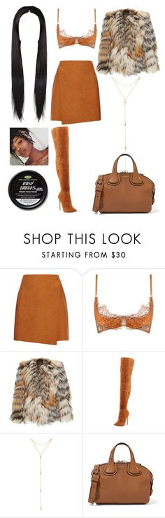 """""""Magazine Photoshoot: Aug 10"""" by allison-syko ❤ liked on Polyvore featuring MSGM, Agent Provocateur, Roberto Cavalli, Neiman Marcus, Fragments, Givenchy, 2017 and AndreaRose"""