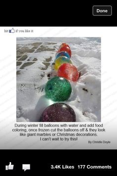 @Emily Schoenfeld Guinn this would be great for y'all...  Not so much us Texas folk, since it rarely snows!