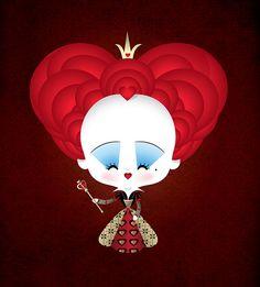 Kawaii Queen of Hearts (2010) by Jerrod Maruyama, via Flickr