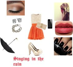 """Singing in the rain"" by soccerjazzgirl on Polyvore"