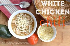 Tennessee White Chicken Chili from Food Republic | Foods | Pinterest ...