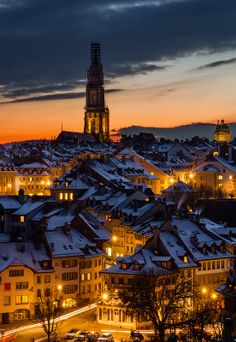 The old town of Bern in winter ~ Switzerland